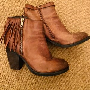 Steve Madden Brown booties /boots
